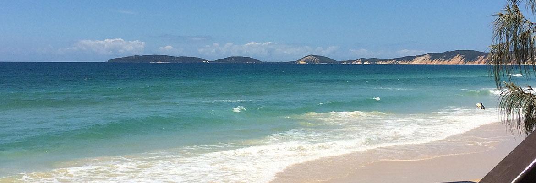 Rainbow Beach looking towards Double Island Point