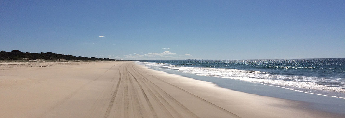 Bribie Island Looking North